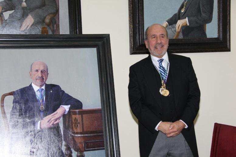 Presentación del cuadro del Presidente