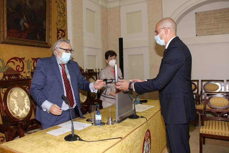 Toma de posesión del Ilmo. Sr. D. José Manuel Martínez Sesmero