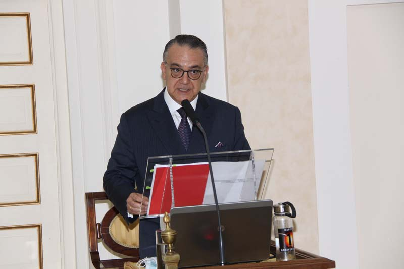 Toma de posesión del Ilmo. Sr. D. Fernando Ferrándiz Vindel